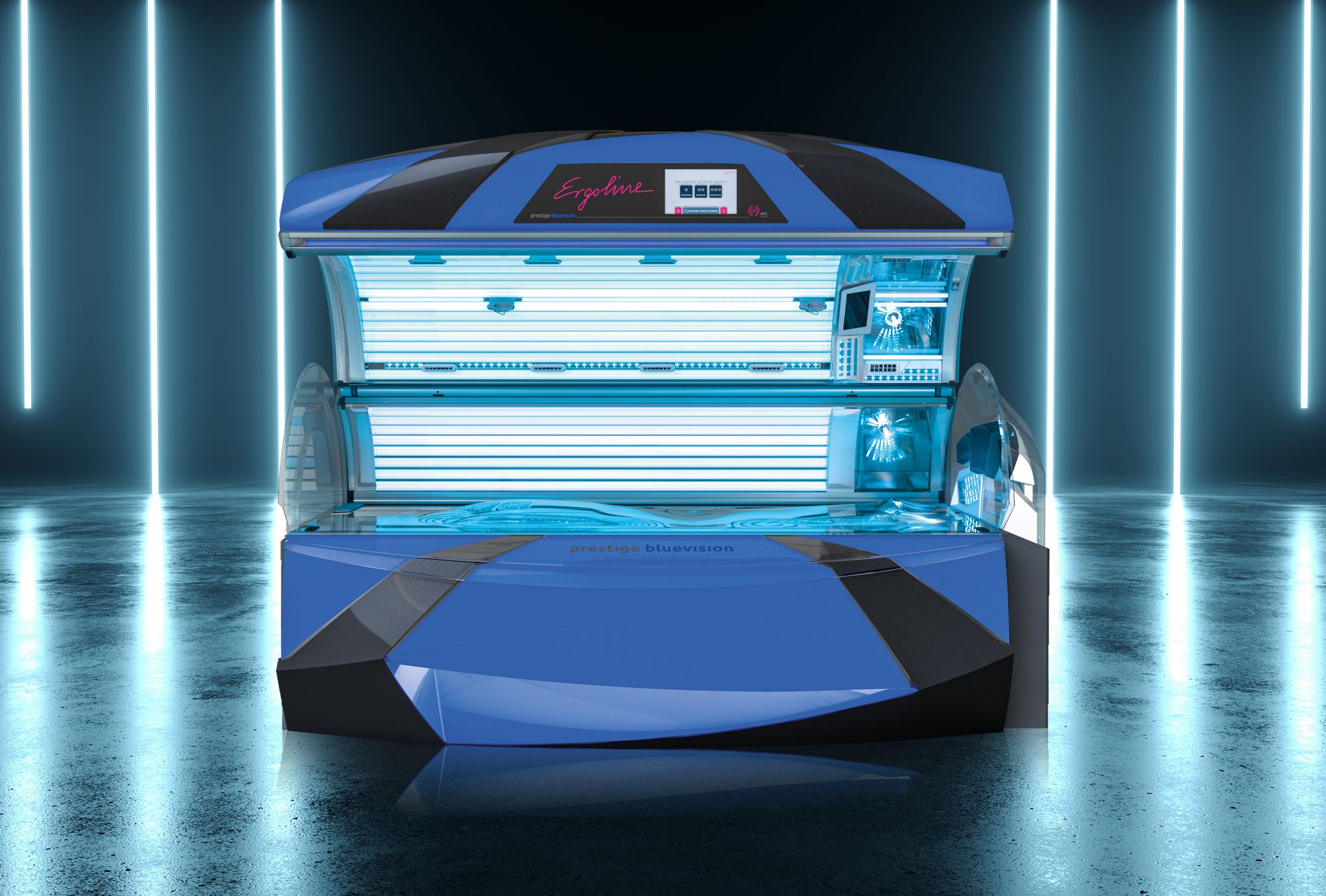 Zonnestudio Sun Vital - Zonnebank Prestige Bluevision Spectra
